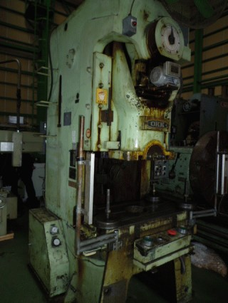 PRESS MACHINES:OKK MT-75 C-PRESS/ FUTAJIMA MACHINERY C-PRESS EXPORT JAPAN