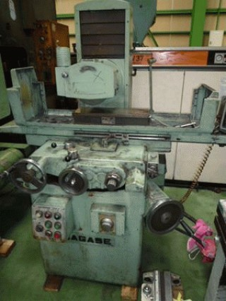 MACHINE TOOLS:NAGASE SGW-4 SURFACE GRINDER/FUTAJIMA MACHINERY SURFACE GRINDER EXPORT JAPAN